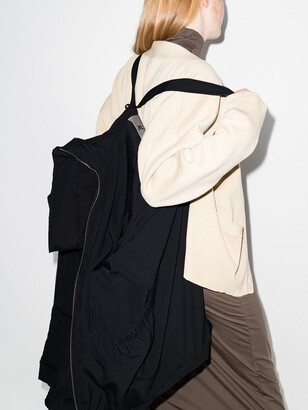 Jil Sander Zip-Up Oversized Puffer Jacket