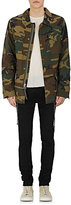 Alpha Industries Men's Embroidered Camouflage Cotton Field Jacket