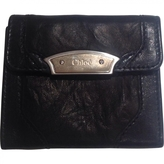 Chloé Black Leather Wallet