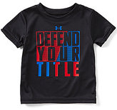 Under Armour Baby Boys 12-24 Months Americana Defend Your Title Short-Sleeve Graphic Tee