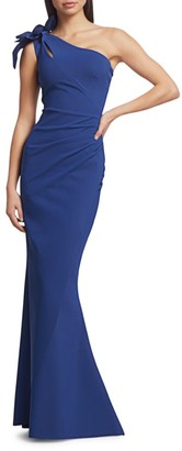 Chiara Boni Gosia One-Shoulder Gown