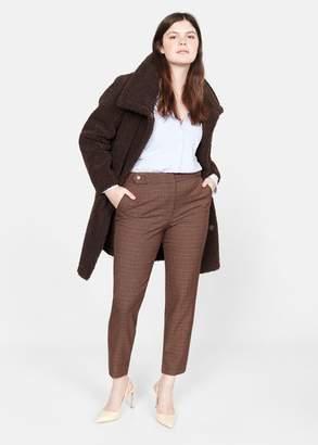MANGO Print super slim fit trousers