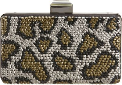 Lanvin Evening Satin Broiderier Clutch