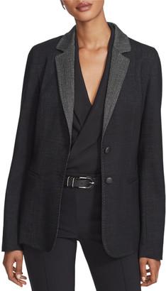 Lafayette 148 New York Rozella Dual Weave Suiting Jacket