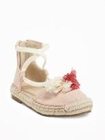 Old Navy Tassel-Lace Espadrilles for Toddler
