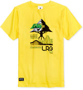 Lrg Men's Tree Tech Cotton Graphic-Print Logo T-Shirt