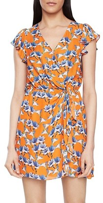 Parker Ramona Floral Faux-Wrap Dress