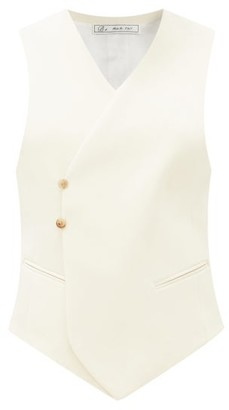 Umit Benan B+ - Double-breasted Wool-blend Waistcoat - Ivory