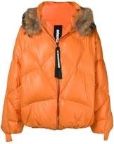 As65 hooded padded coat