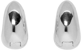 Sophie Buhai Silver Hinged Hoop Earrings