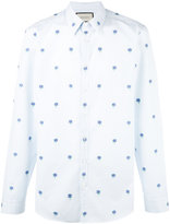 Gucci floral embroidered shirt - men - Cotton - 39