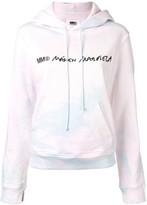 MM6 MAISON MARGIELA logo tie-dye hoodie