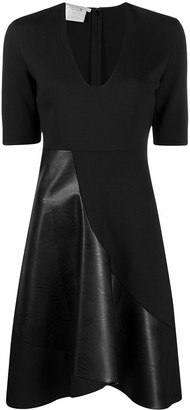 Stella McCartney Paneled Flared Mini Dress