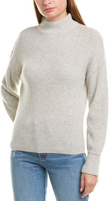 Qi Mock Neck Cashmere Sweater