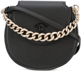 Versace Palazzo curved crossbody bag - women - Leather - One Size