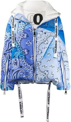 KHRISJOY Paisley Padded Jacket