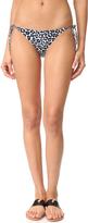 Stella McCartney Mixed Animals Tie Side Bikini Bottoms