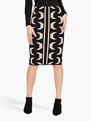 Damsel in a Dress Izzy Geo Knitted Skirt, Multi