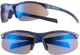 UNIONBAY Men's Semirimless Oval Wrap Sunglasses