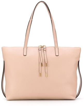 Bally Pebbled Leather Tote Bag