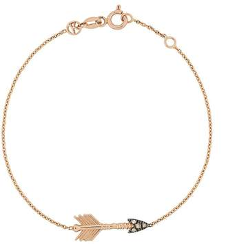 Kismet By Milka 14kt rose gold Big Arrow diamond bracelet