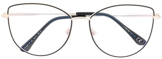 Tom Ford Soft Cat-Eye Glasses