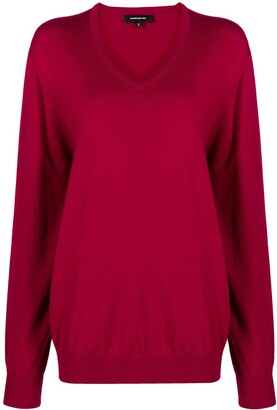 Barbara Bui V-Neck Merino Jumper