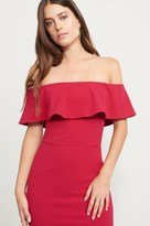 Dynamite Off-The-Shoulder Dress with Ruffles