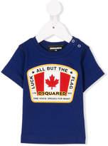 DSQUARED2 flag print T-shirt