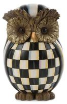 Mackenzie Childs Courtly Check Owl