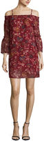 BY AND BY by&by Short Sleeve Floral Shift Dress-Juniors