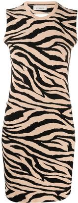 Laneus Tiger Print Dress
