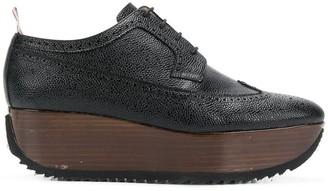 Thom Browne Leather Brogue Platform