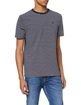 Scotch & Soda Men's Nos Cotton Elastane Tee T-Shirt,Medium