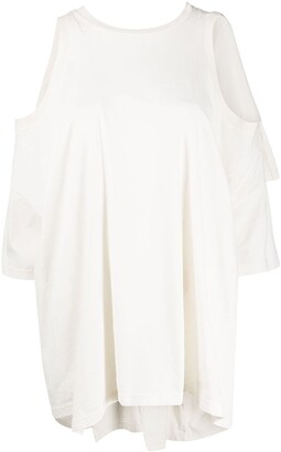 Maison Margiela Oversized Cold Shoulder Top