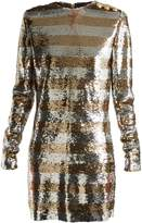 Balmain Boat-neck mini dress