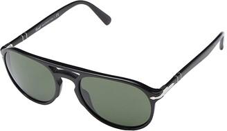 Persol 0PO3235S (Black/Green) Fashion Sunglasses
