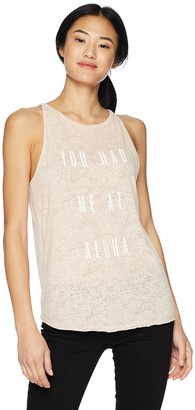 O'Neill Women's Had Me Screened Tank