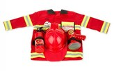 Melissa & Doug Toddler Personalized Fire Chief Costume Set