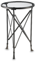 Metal Tripod Side Table