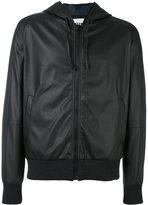 MSGM elastic cuffs hooded jacket