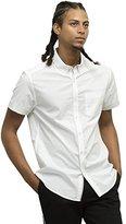 Kenneth Cole New York Men's Short Sleeve Slim Button Down Collar Print Shirt