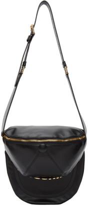 Moschino Black Cap and Belt Waist Bag
