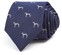 Paul Smith Dog Silk Skinny Tie
