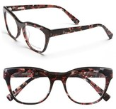 Derek Lam Women's 52Mm Optical Glasses - Burgundy Marble