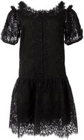 Ermanno Scervino mini lace dress - women - Silk/Cotton/Polyamide/Polyester - 38