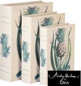 OKA Ananas Box Files, Set of 3