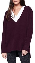 Sanctuary Women's Santuary Delancey V-Neck Sweater