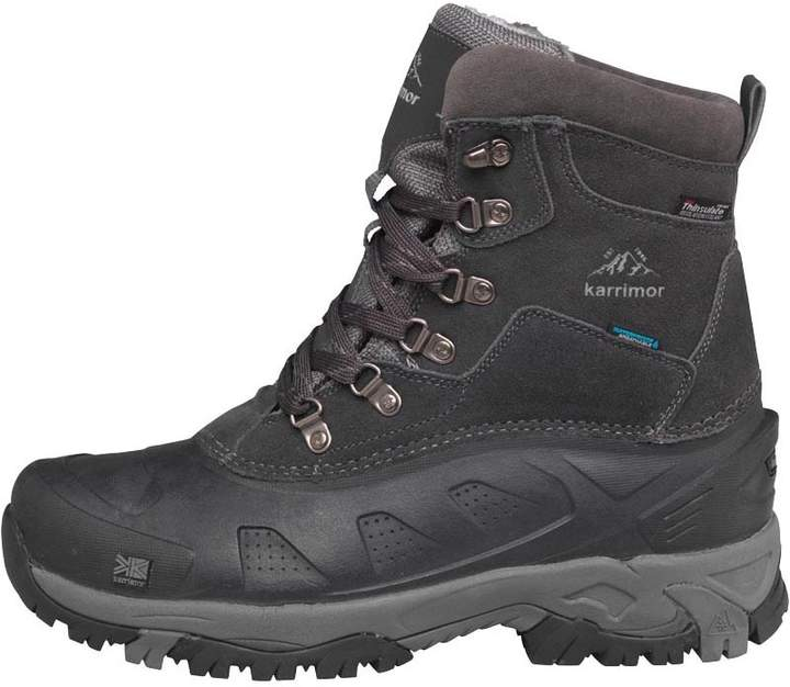 8f287f25f29 Mens Snowfur II Weathertite Snow Boots Black