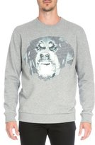 Givenchy Rottweiler Crewneck Sweatshirt, Gray